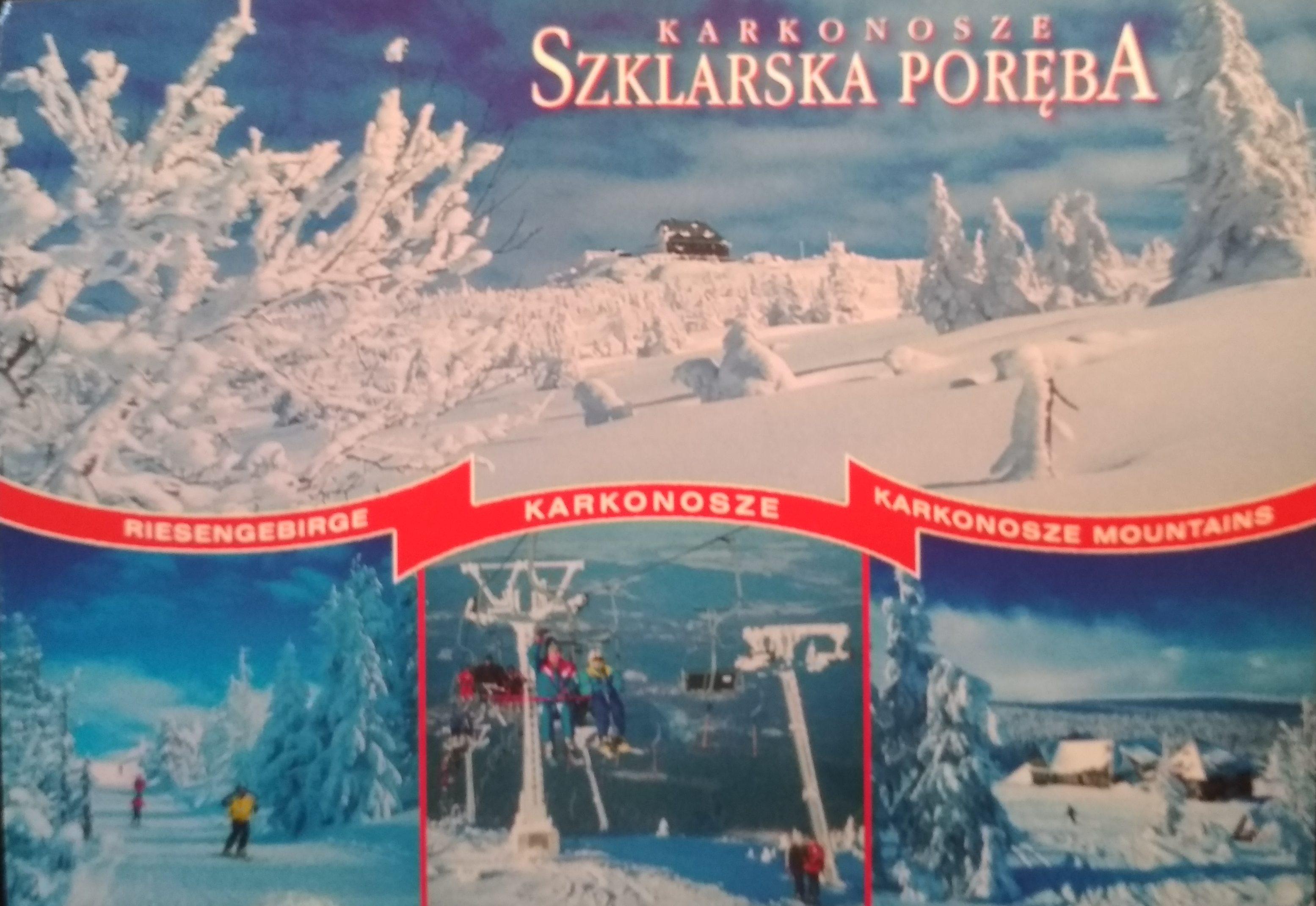 Pocztówka z Hali Szrenickiej