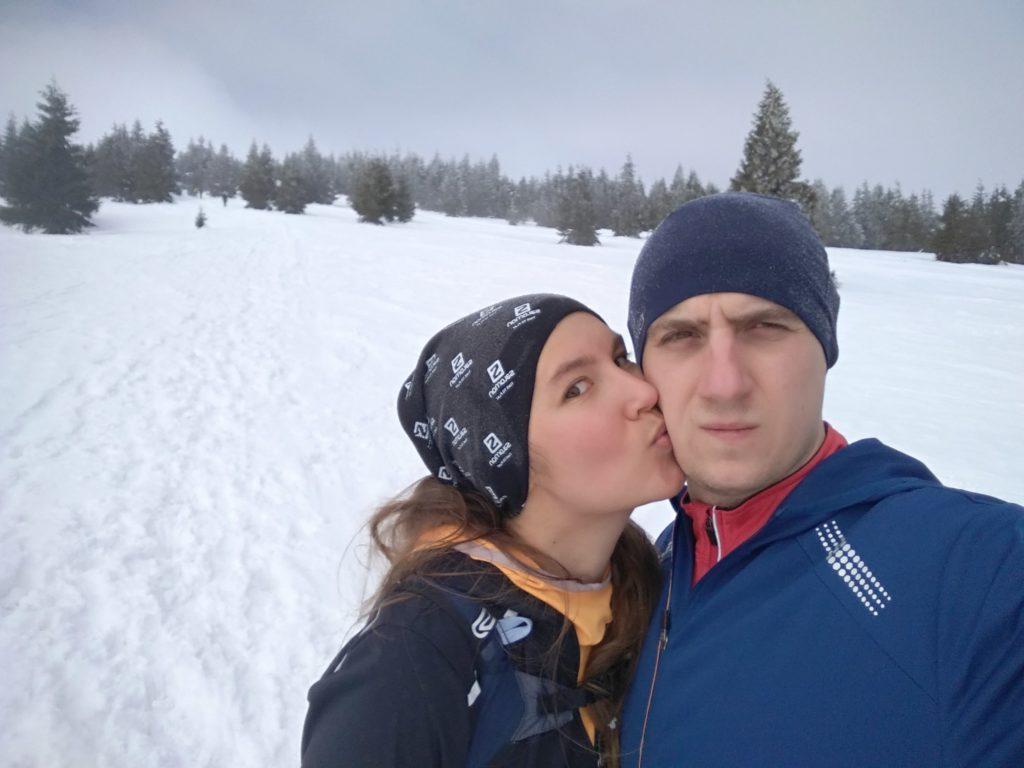Zimowy buziak