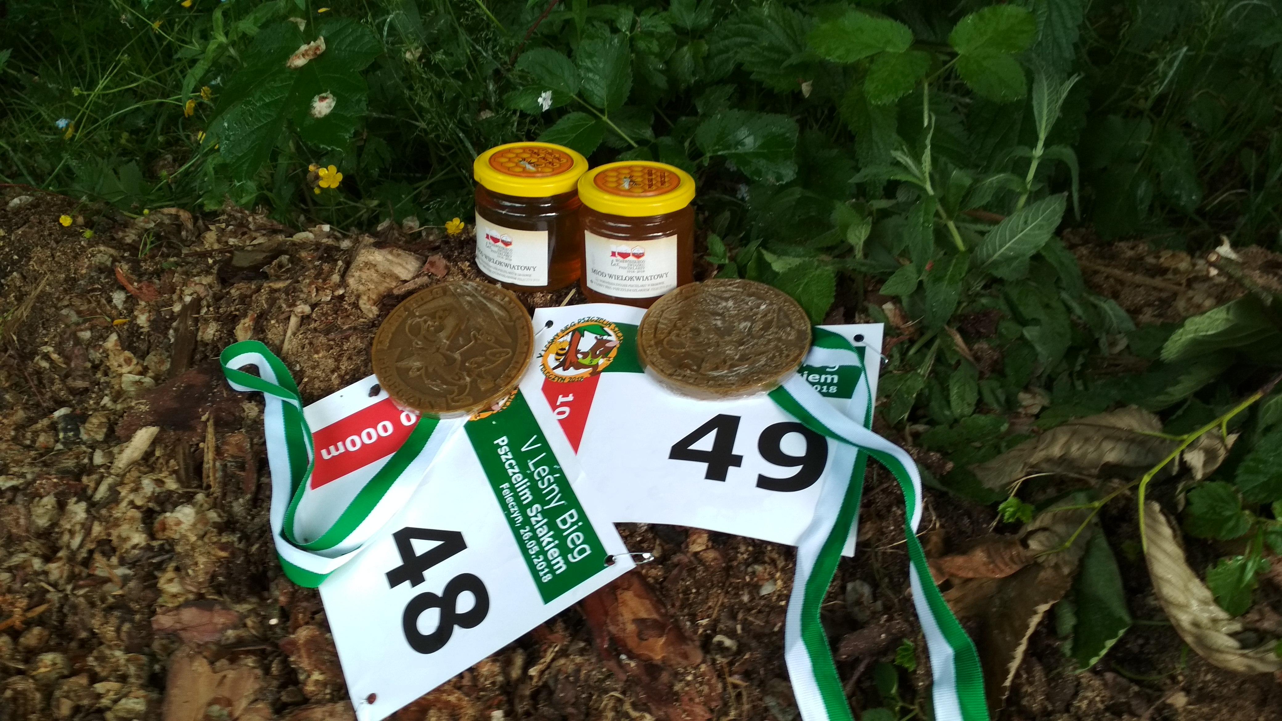 Nasze trofea bieg pszczelim szlakiem