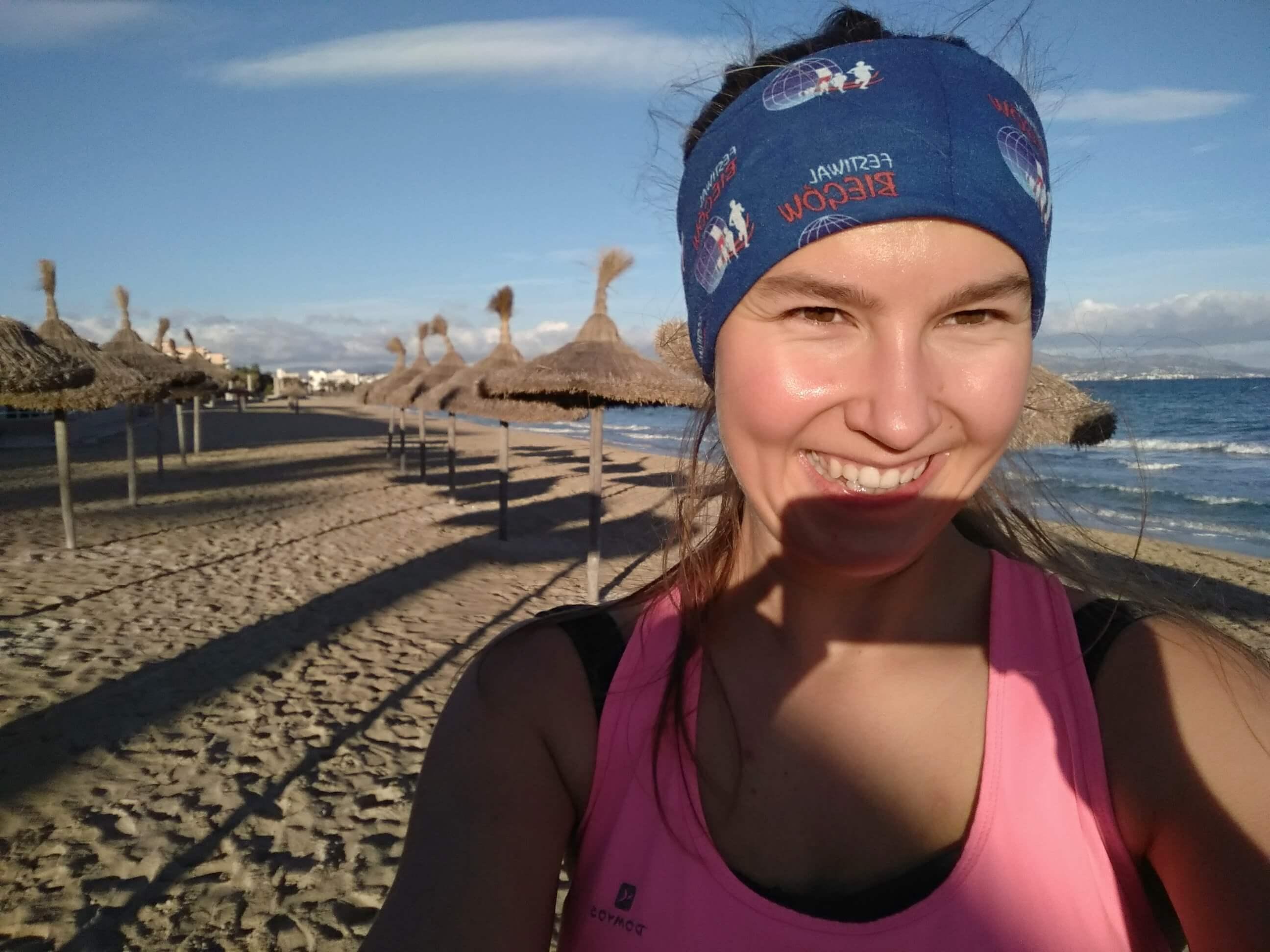 Letnie klimaty podczas lisopadowego biegania na Majorce