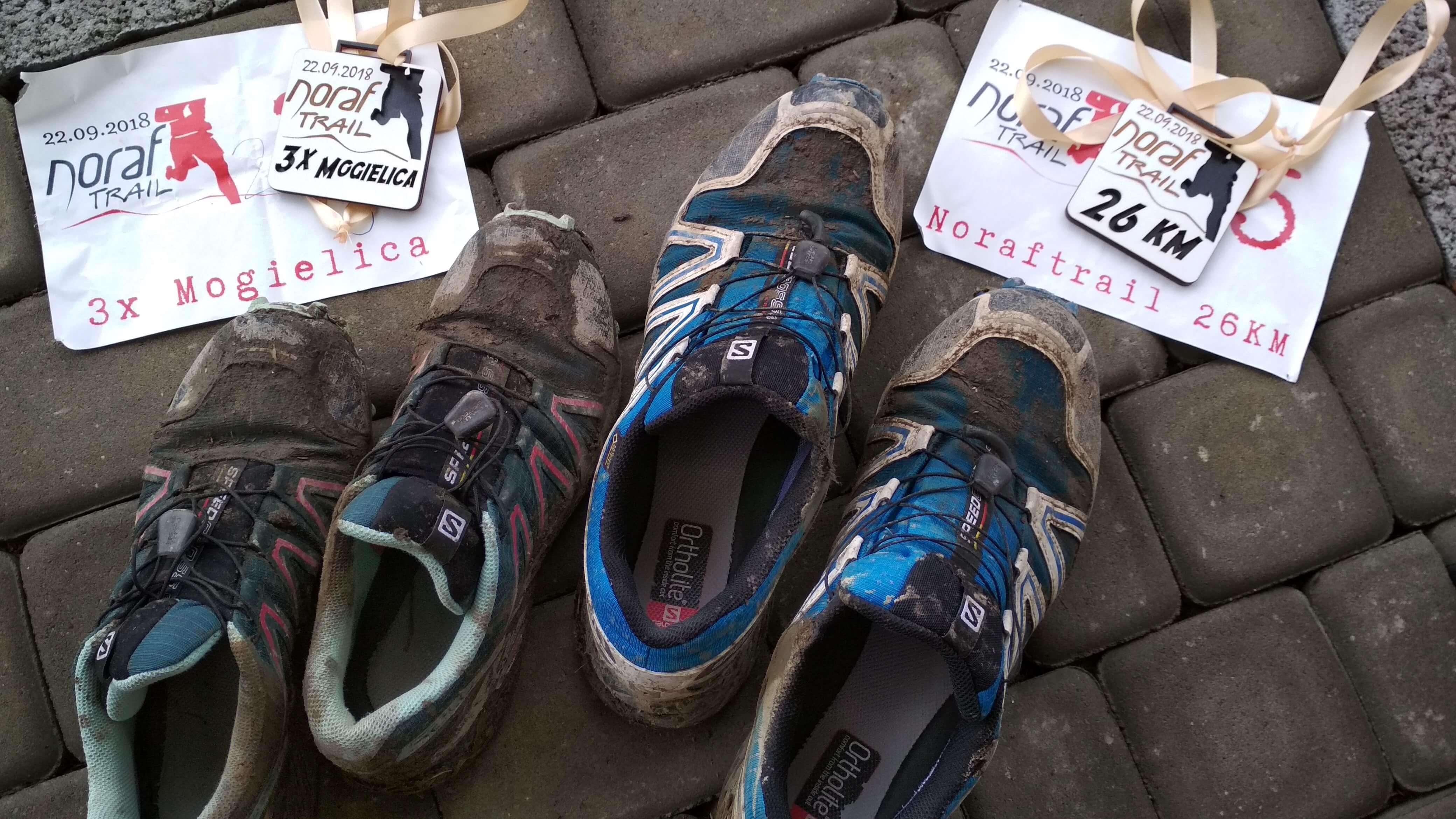 A warunki były takie jak nasze buty na koniec