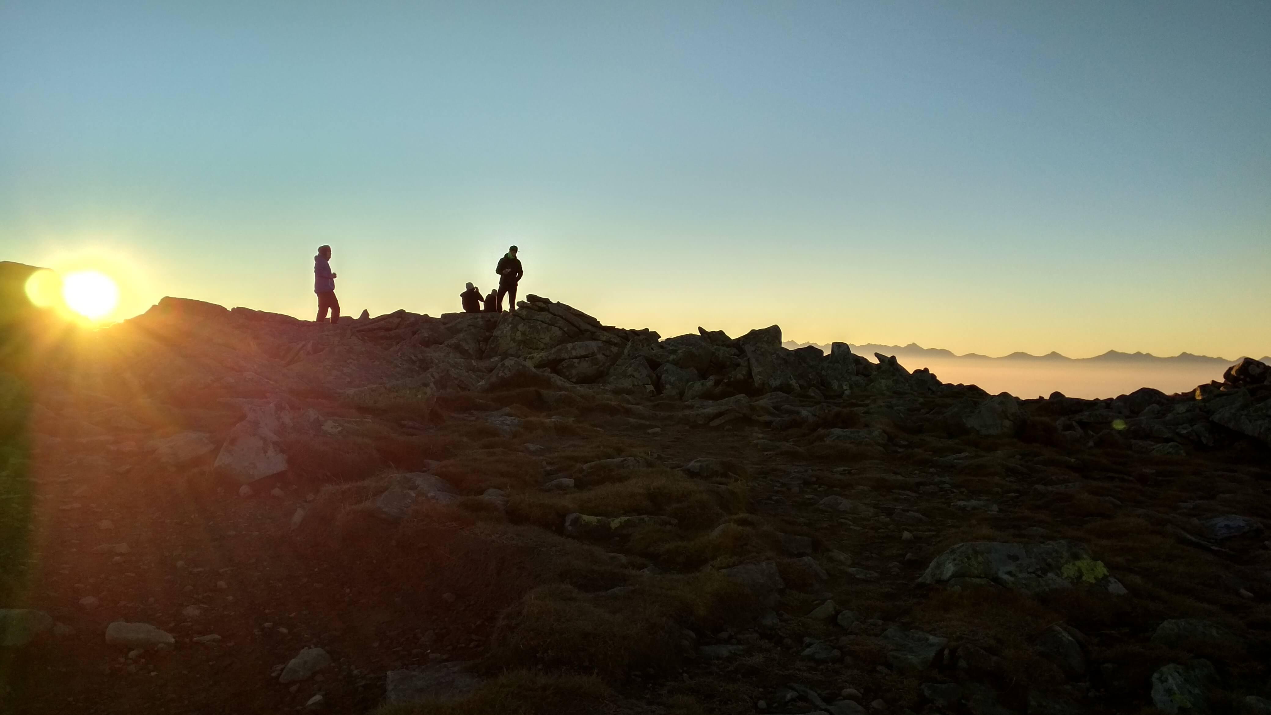 wschód słońca babia góra
