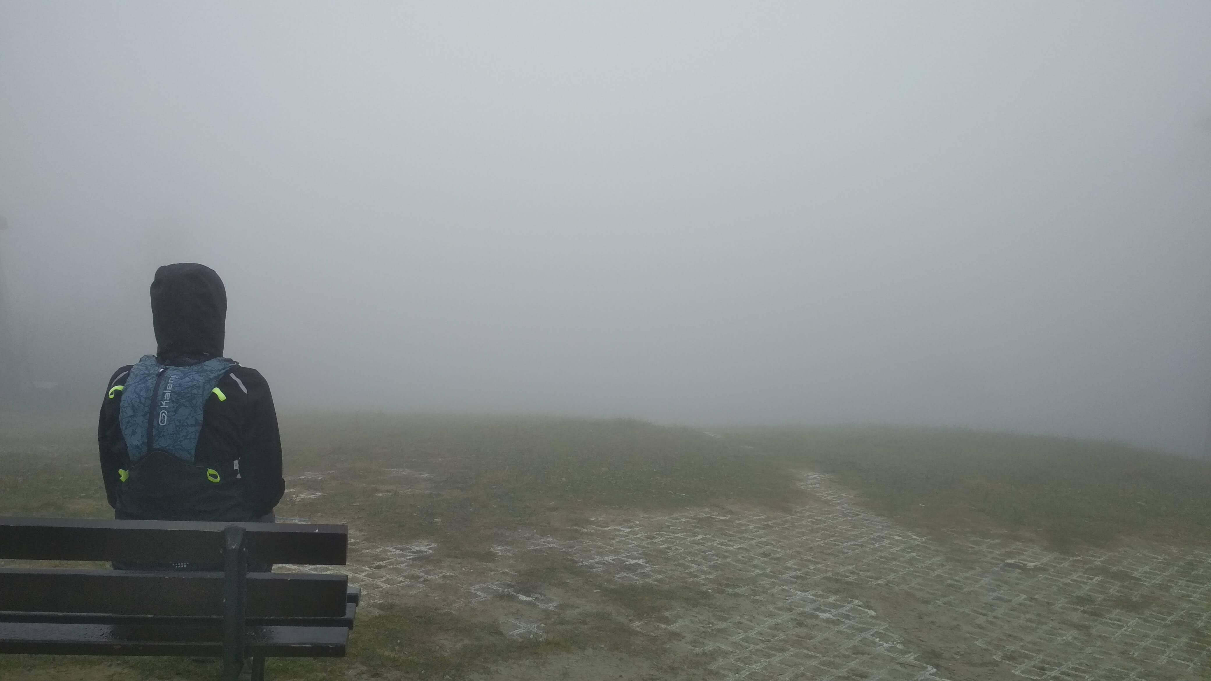 Podziwiając widoki na Jaworzynie