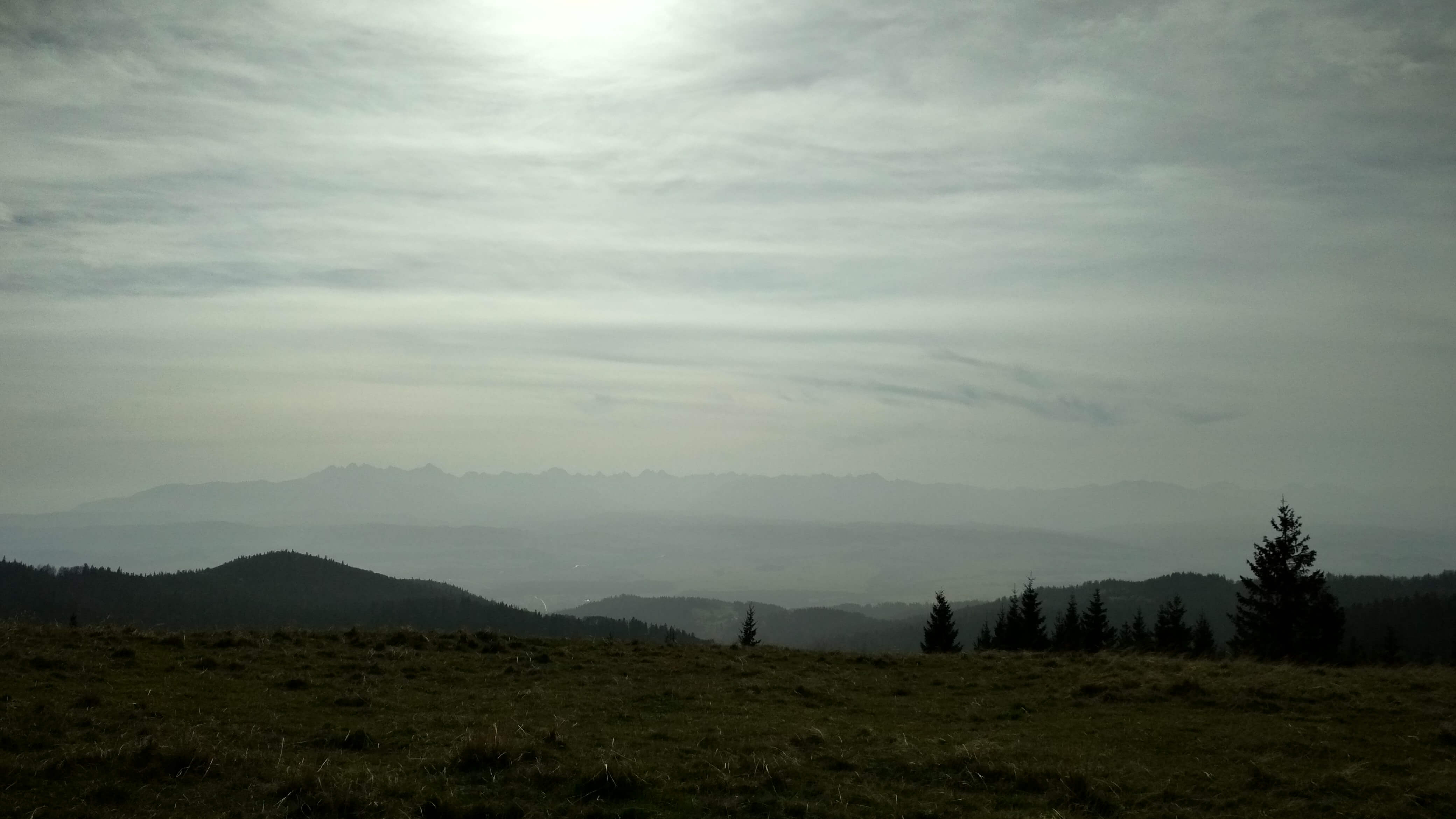 Góry to czy chmury?