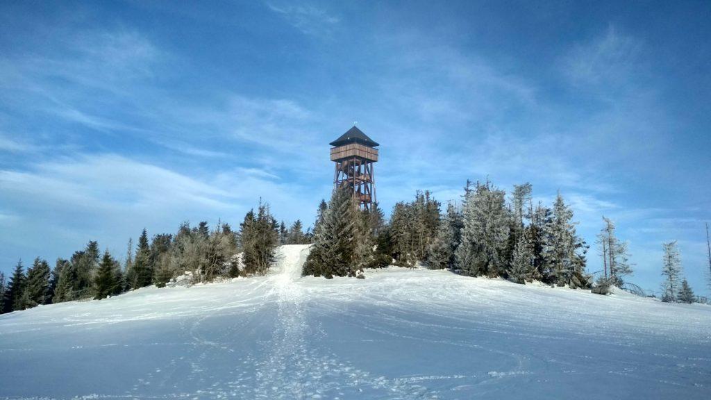 Wieża wdokowa na Lubaniu