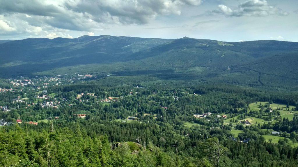 Widok z Wysokiego Kamienia