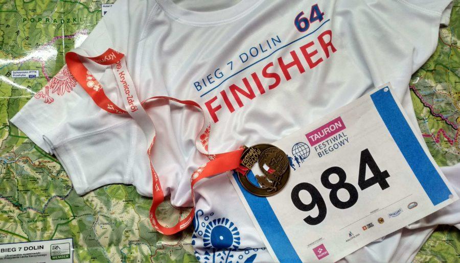 Moje pierwsze ultra, czyli 64 km na Biegu 7 Dolin 10 TAURON Festiwalu Biegowego