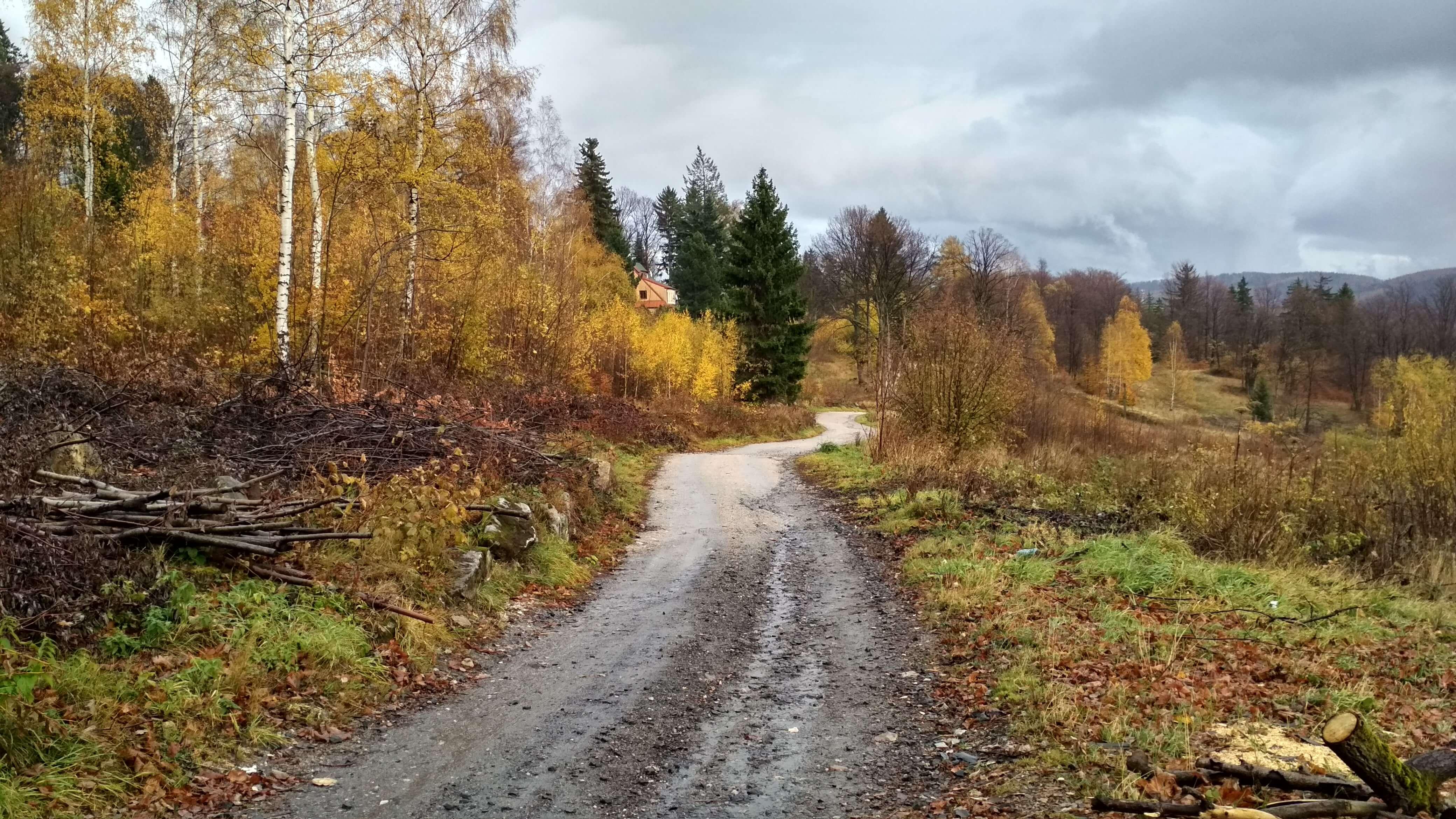 Na dole jesiennie...