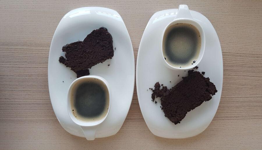 Niebiańskie i wegańskie sFIT ciasto czekoladowe z czerwonej fasoli