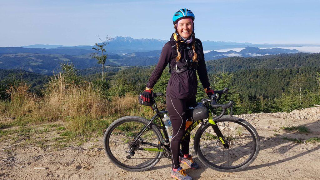 Ja, Taterki, Przełęcz Żłobki pod Radziejową, urlop rowerem